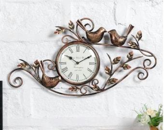 Metal Wall Clock Analog