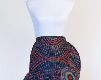 Kitenge Wrap Skirt  // colorful skirt // women's skirt // african print skirt // ankara skirt // skirts for women