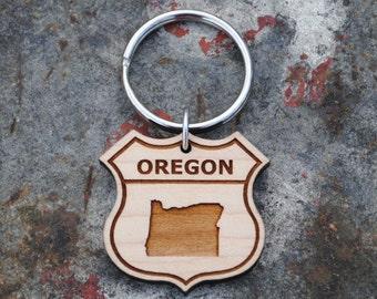 Oregon State KEYCHAIN