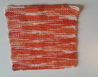 Poppy Fields washcloth