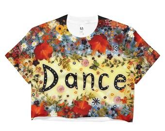 Dance Orange Crop Top