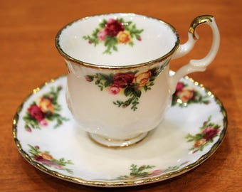 "Royal Albert ""Old Country Roses"" Mini Teacup/Espresso Cup"