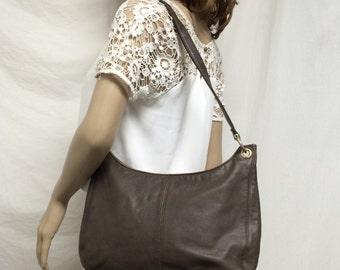 Jasqueline Ferrar leather purse,bag,brown leather purse, shoulder bag,bags,purses