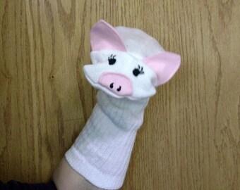 Momma Pig Sock Puppet