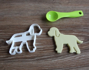 Cockapoo Cookie Cutter Dog Breed Treat Cutter puppy cupcake toppers