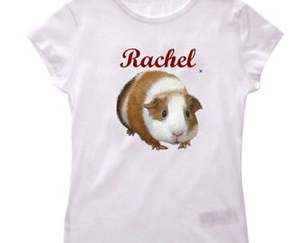 Girl pig t-shirt from India personalized with name