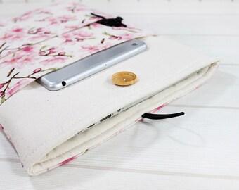 Macbook sleeve, laptop case, Macbook Air case, Pro Retina sleeve, laptop sleeve, Macbook Pro case, 13 inch laptop case, laptop cover, sakura