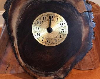 Live Edge Clock