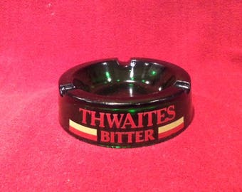 Thwaites Bitter Green Ashtray