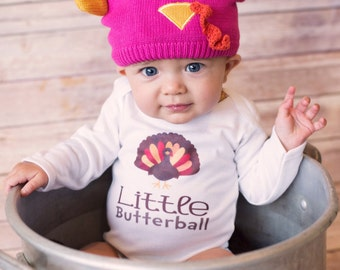 ON SALE Thanksgiving Baby, Turkey Bodysuit, Cute Baby Clothes, Unique Baby Clothing, Funny Baby, Kids Clothes, Holiday Gift, Thanksgiving