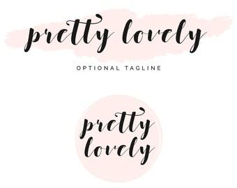 Logo Design, Blog Logo, Blog Header, Blogger Logo, Header Blogger, Header Design, Premade Logo, Calligraphy, Logo Template