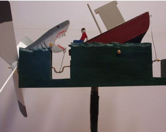 JAWS Whirligig (You pick the Colors!)