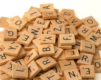 Scrabble Tile - Your Choice of Letter