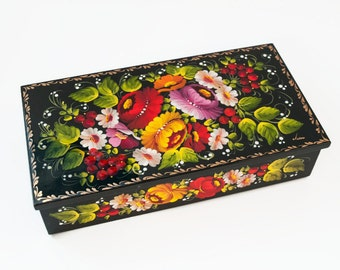 Hand painted wooden box mothers day gift sister gift womens gift mom gift best friend 5th anniversary gift