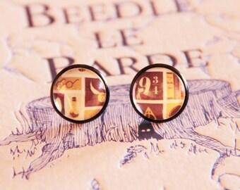Harry Potter 12mm earrings