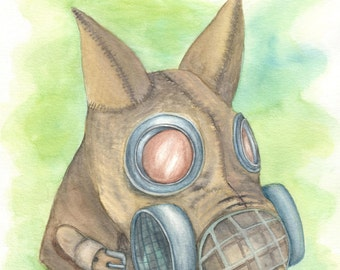 Dog Gas Mask