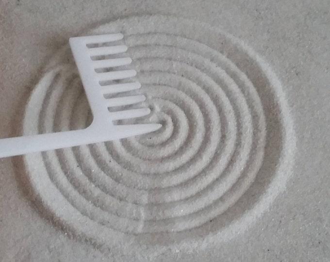 Zen Garden Rake, Medium Concentric Circle Maker Rake, Sand Rake