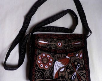 small Embroidered crossbody PURSE/bag from PERU