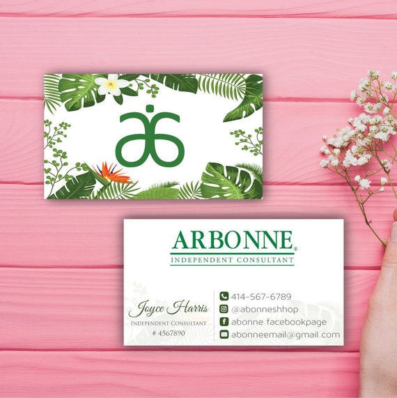 arbonne business cards Minimfagencyco