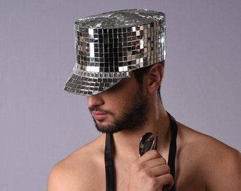 Mirror Ball Party Hat