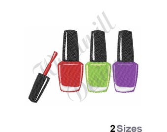 Nail Polish - Machine Embroidery Design