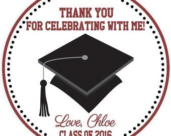 Graduation Favor Tags ( Set of 12 ) / Graduation Favors / Graduation Party Favors / Graduation Favor Tag / College Graduation Favors