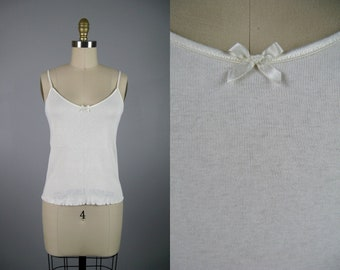 Cotton Knit Camisole by CALIDA Bodywear NOS Unworn Size M Item 13102