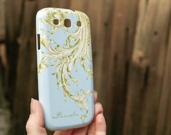 Nature Galaxy S7 Edge Case, Moss Green Flourish Samsung Galaxy, Sky Blue Galaxy S6,