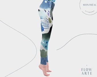 Aerial Hoop Leggings, Performance wear, Unusual Leggings, Hula Hoop Clothing, circus clothes, high waisted leggings, ethical activewear yoga