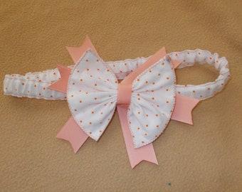 headband, stretch headband, baby headband, infant headband, hair bow headband, choose from 3 sizes, handmade girl headband, hair accessories