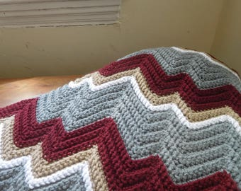 Zigzag Blanket: Autumn