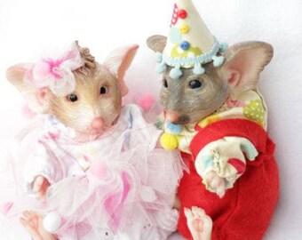 KIT Mouse Mascot - Blank Reborn MOUSE Kit