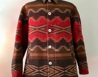 Pendleton Jacket Pendleton Coat Southwestern Jacket Southwestern Coat Vintage Southwestern Tribal | Men M/ L | Wm L/xl SALE!