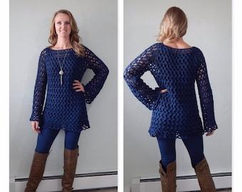 Crochet Sweater Tunic