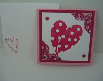 Mini Valentine Note Cards