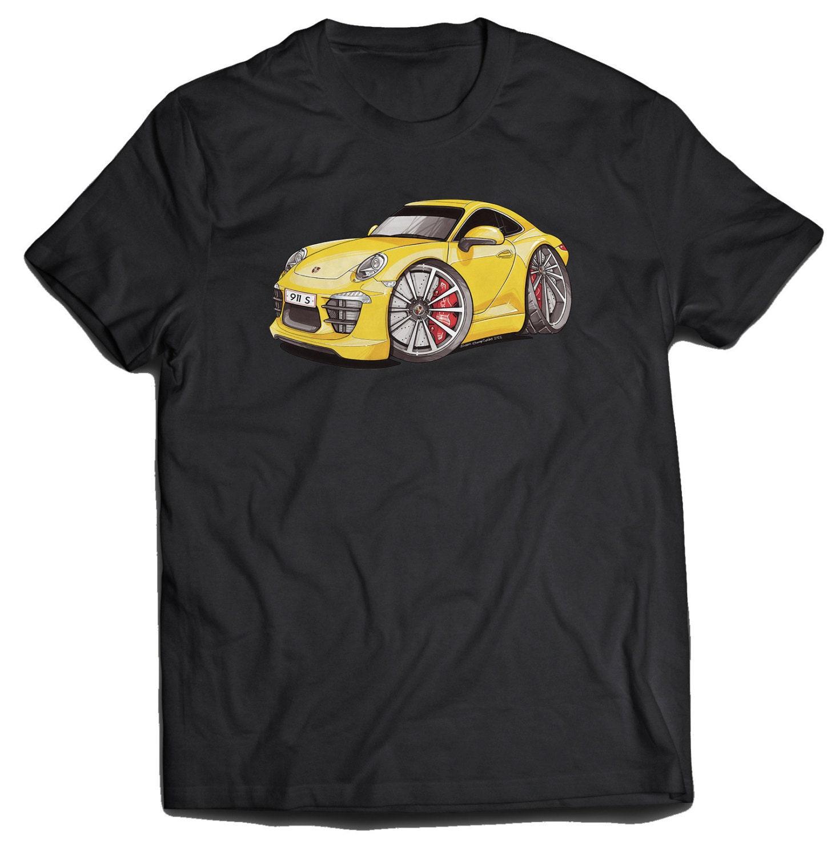 porsche 991 911 carrera koolart t shirt for men. Black Bedroom Furniture Sets. Home Design Ideas