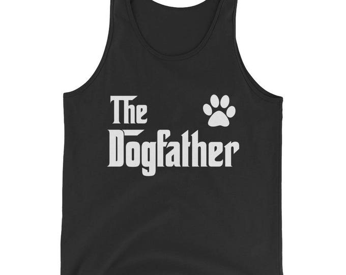 Unisex  The DogFather Tank Top - Dog lovers gift