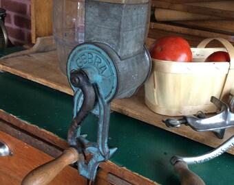 Vintage Germany Gebra food cheese grater shredder