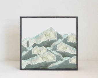 mountain nursery, nature nursery art, texas, gender neutral baby, wall decor, southwestern geometric prints, nursery art, redtilestudio