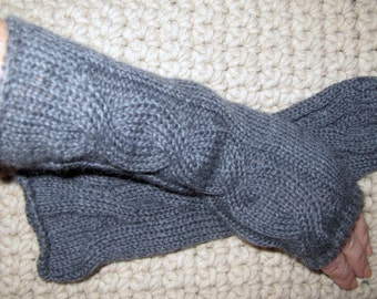 long fingerless gloves - armwarmers