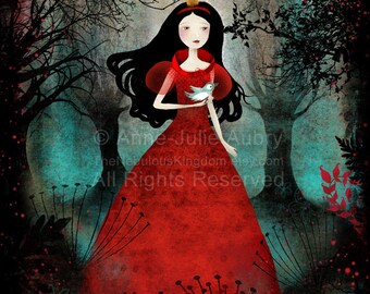 Enchanted Forest - open edition print - Whimsical Art