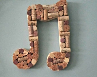 An Eighth Note in Wine Corks