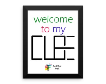 Funny Cubicle Sign - Welcome to my Cube, Cubicle Decor Print, Funny Office Gift, Office Decor, Cubicle Gift, Office Humor, Cubicle Sign Art
