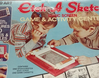 Etch A Sketch Magic Screen Games and Activity Set by Ohio Art