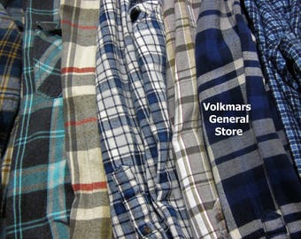Distressed Vintage Flannel Shirt - Flannels That You'll Love