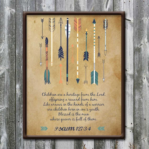 Whose Nursery Is That: Psalm 127 Children Are A Heritage Arrows Nursery