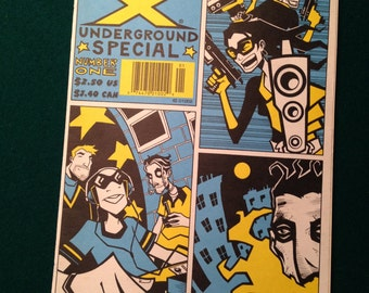 Generation X Marvel Comics UNDERGROUND SPECIAL No.1.  Free Shipping
