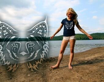Ladies Mysterious Lynx T-shirt