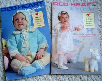 Baby Crochet and Fairytale Crochet - Two Pattern Booklets for Babies by Red Heart