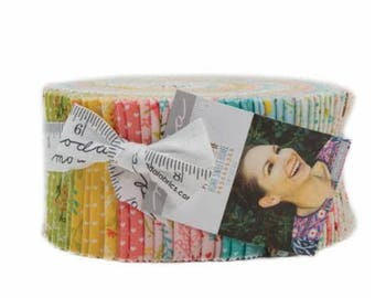 Home Sweet Home - Jelly Roll - by Stacy Iest Hsu for Moda